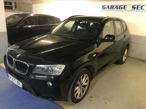 BMW X3 (F25) XDRIVE20D 184CH LUXE  Occasion