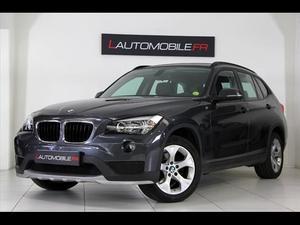 BMW X1 (E84) (2) SDRIVE18D 143 LOUNGE PLUS GPS PRO CUIR NOIR