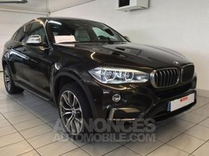 BMW X6 3.0d x Drive 258 Exclusive marron foncé