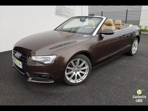Audi A5 Cabriolet 2.0 TDI 177ch BVA Ambition Luxe