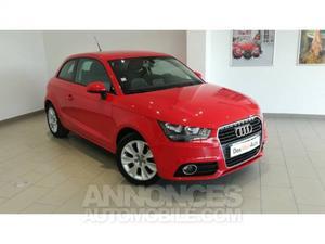 Audi A1 1.6 TDI 105 Ambition rouge métallisé
