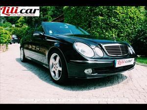 Mercedes-benz Classe e E 500 Avantgarde Pack Luxe A