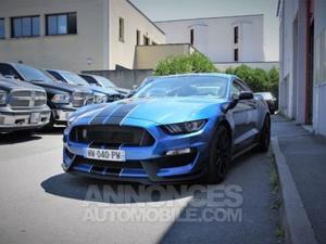 Ford Mustang SHELBY GT 350 V8 5.2 L 533 HP bleu