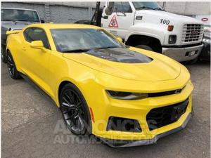 Chevrolet Camaro ZL1 jaune