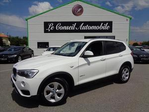 BMW X3 (F25) PHASE2 BVA8 GPS 18D SDRIVE 18DA 150CH BUSINESS