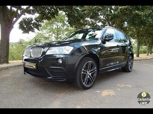 BMW X3 30 XDRIVE 30D PACK M SPORT 258 CH  Occasion