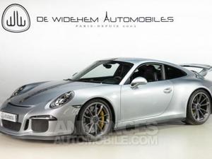 Porsche 911 TYPE 991 GT3 3.8 gris clair