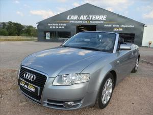 Audi A4 CABRIOLET CABRIOLET 2.0 TDI 140 PF AMBITION LUXE
