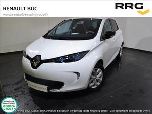 Renault Zoe LIFE CHARGE RAPIDE GAMME  Occasion