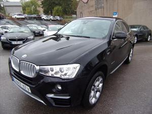 BMW X4 X-DRIVE 2LD 190 CV X-LINE GPS CAMÉRA JA 18 FULL LEDS