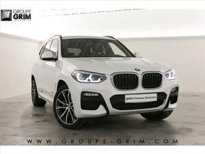 BMW X3 G01 XDRIVE30D 265CH BVA8 M Sport  Occasion