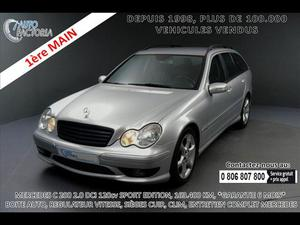 Mercedes-benz Classe c C 200 BREAK 2.0 CDI SPORT ED*CLIM