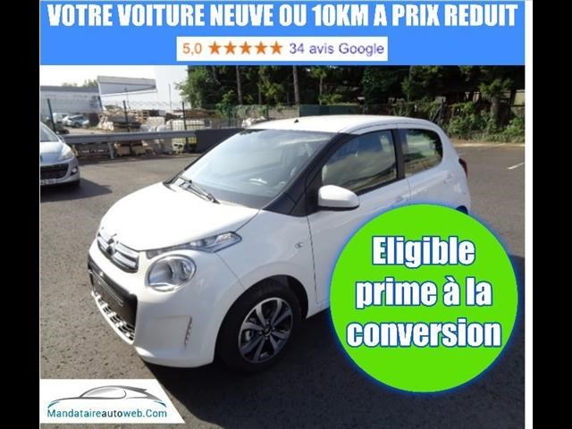 Citroen C1 VTI 72 SHINE 5P + CAMERA + PK SAFTY 1KM