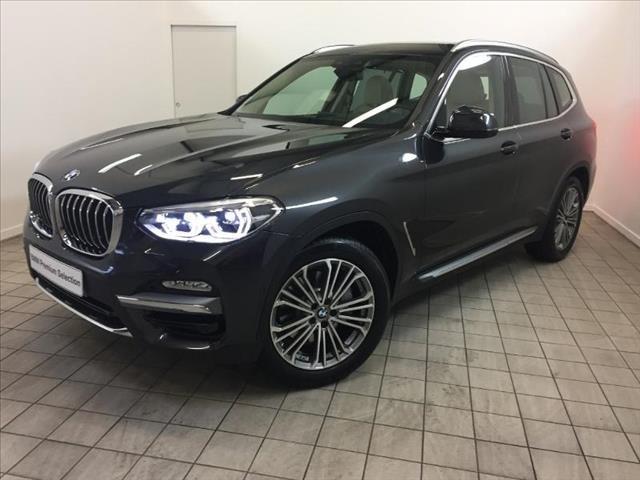 BMW X3 xDrive30d 265 ch Luxury (tarif mars
