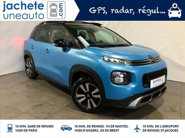 Citroen C3 aircross 110CH SHINE EAT6 TO+P.ASSIST