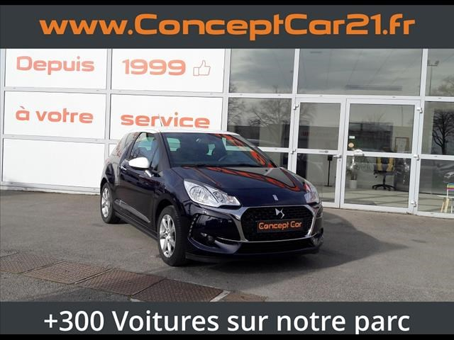 Ds Ds 3 PURETECH 110CH SO CHIC S&S + GPS  Occasion